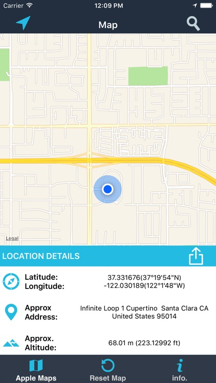 Find My Location details screenshot-0