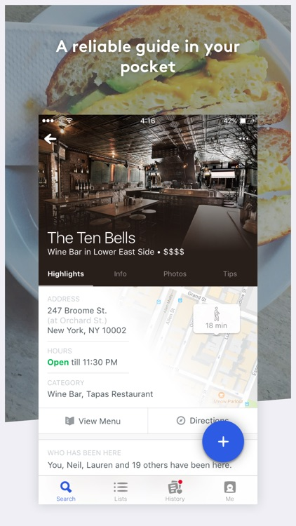 Foursquare City Guide screenshot-4