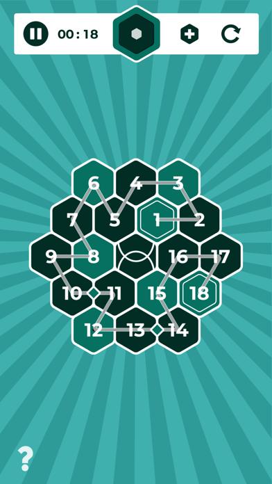 Number Mazes: Rikudo Puzzlesのおすすめ画像1