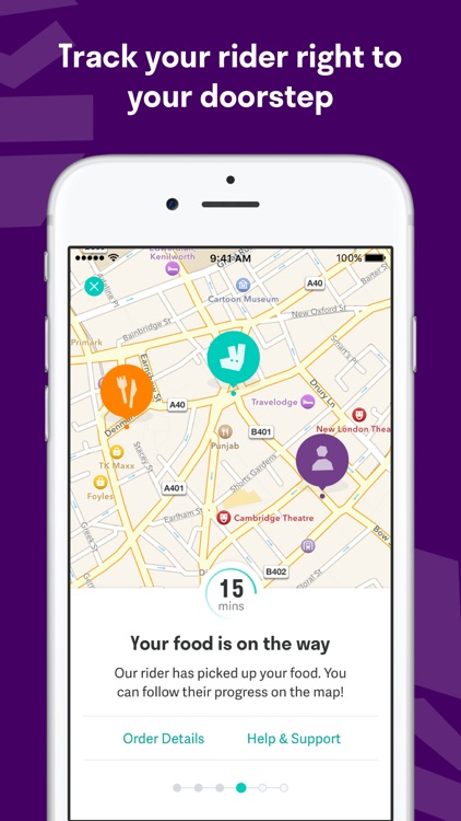 Deliveroo: Restaurant Delivery - Order Food Nearby screenshot-3