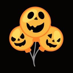 Hollow Halloween Emoji Sticker