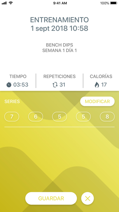 Screenshot for Just 6 Weeks PRO in Colombia App Store