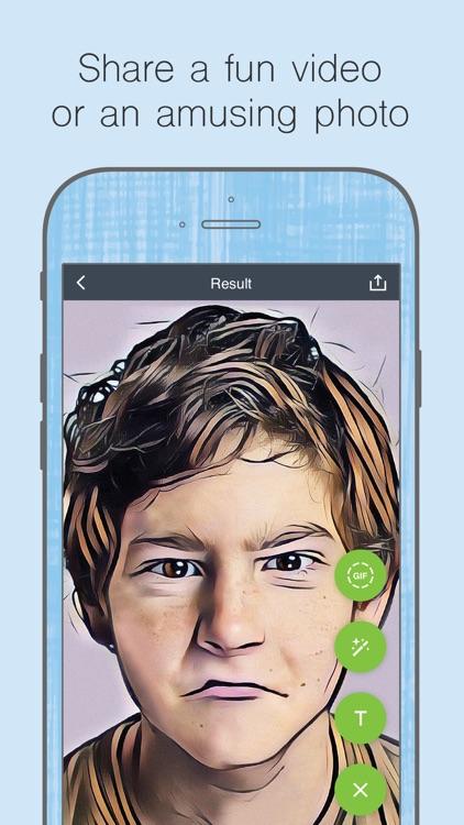 Cartoon yourself, face effects screenshot-4