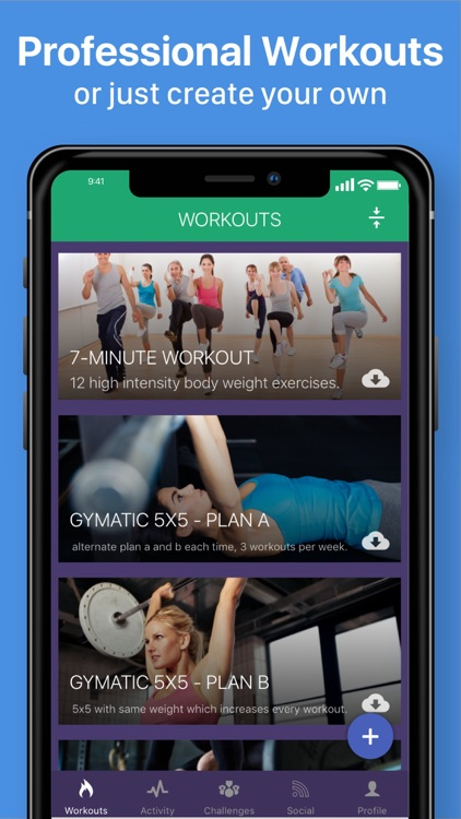 Gymatic Workout Tracker