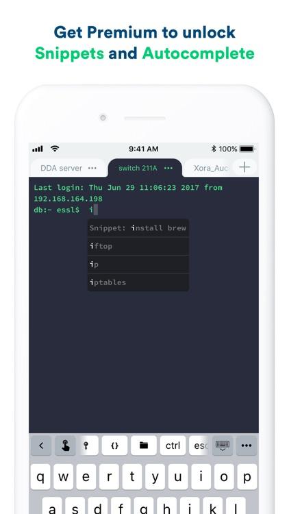 Termius - SSH client screenshot-5