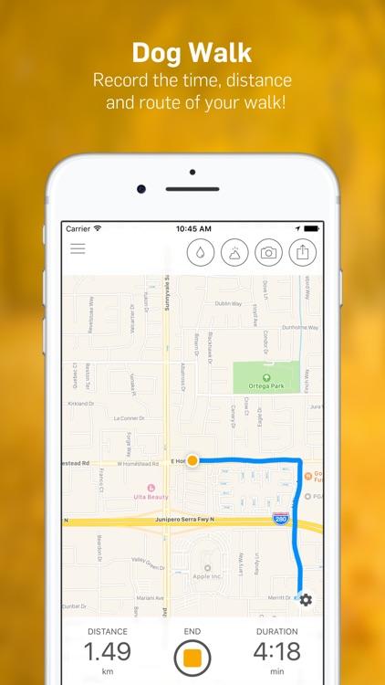 Dog Walk - Track Your Dog's Daily Walks! screenshot-0