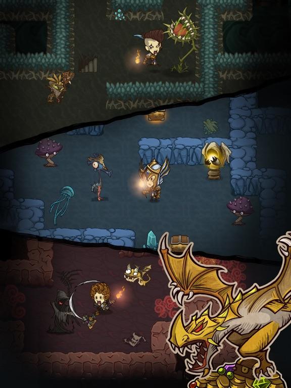 The Greedy Cave для iPad
