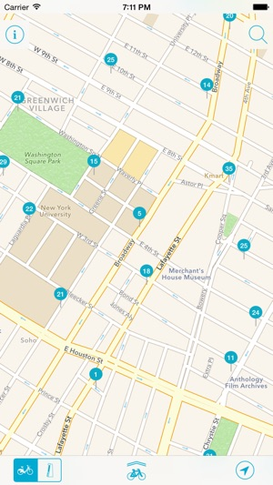Bike Nyc Citibike Map On The App Store