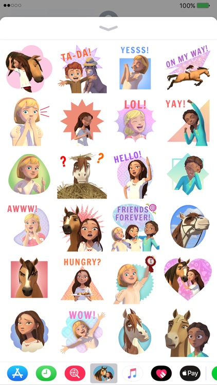 Spirit Riding Free Stickers screenshot-1