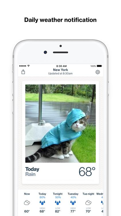 Basic Weather - Weather + GIFs