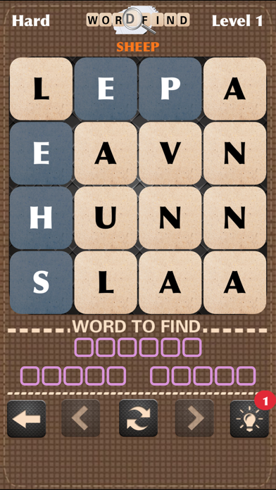 Word Find - Search & Crush Man
