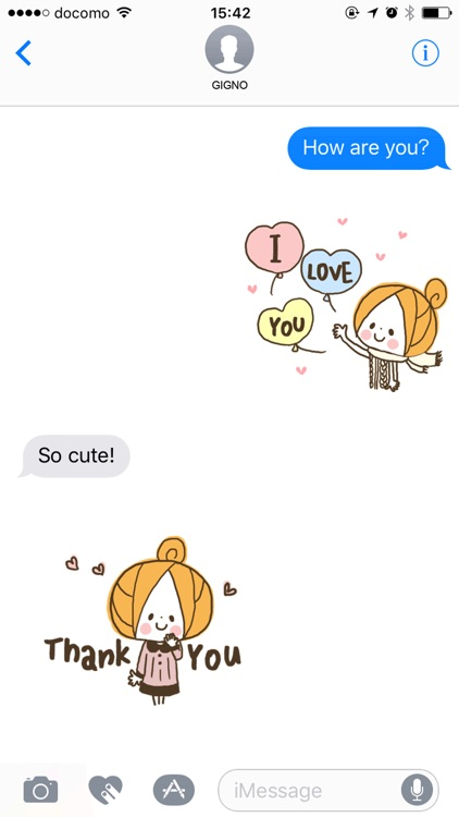 Cute girly stickers(autumn)
