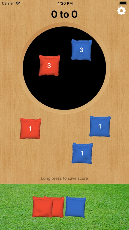 Cornhole Easy Score