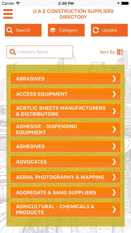 UAE CONSTRUCTION DIRECTORY by drcsystems