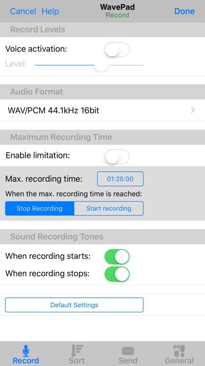 WavePad Master's Edition screenshot-4