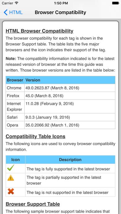 HTML Pro Quick Guide screenshot four