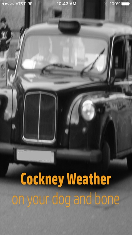 Cockney Weather