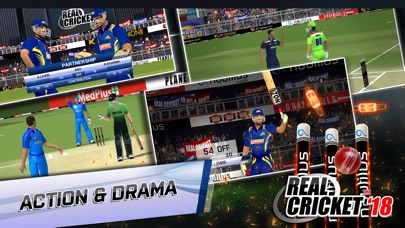 Screenshot 1 Real Cricket™ 18
