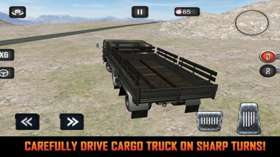 Mission Army Truck Driving screenshot 3