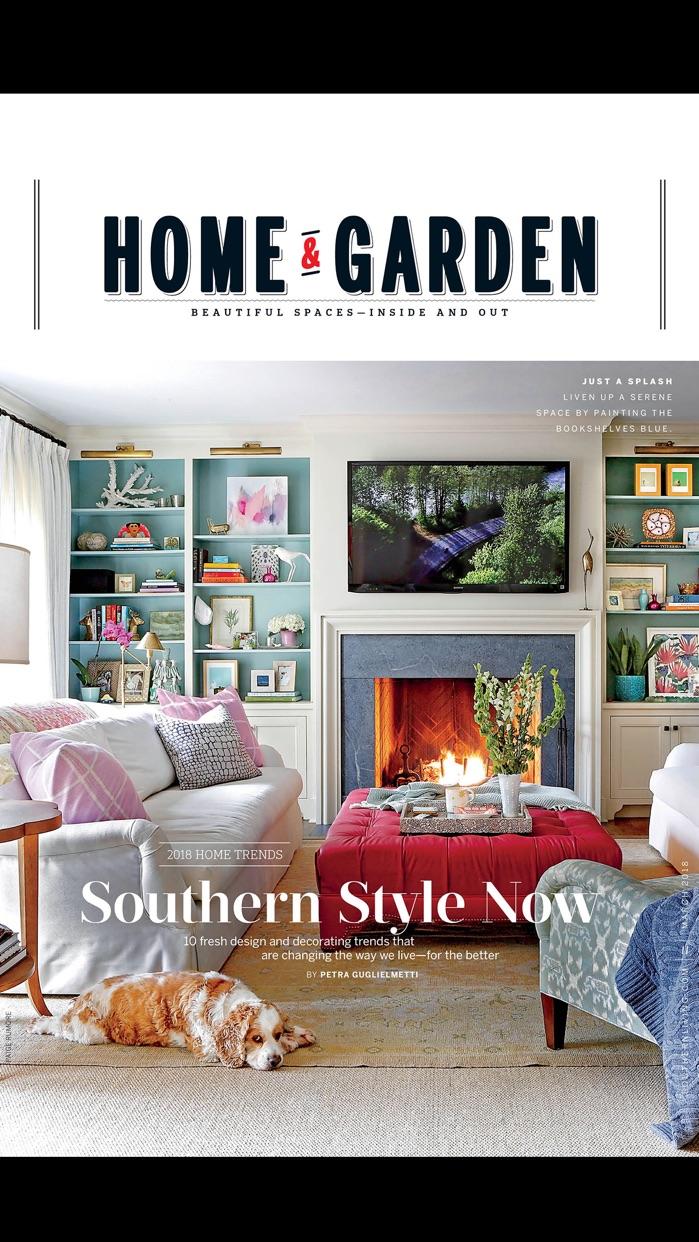 SOUTHERN LIVING Magazine Screenshot
