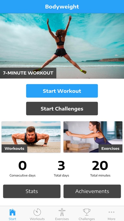 Home Workout: No Equipment