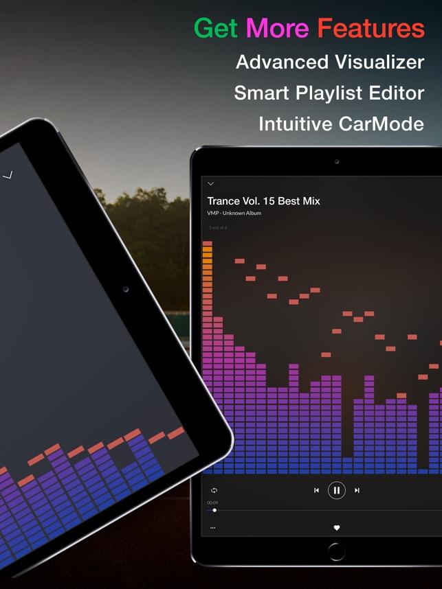 Equalizer+ PRO Musik-Spieler Screenshot