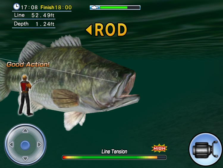 Bass Fishing 3D HD screenshot-4