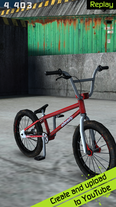 Touchgrind BMX Screenshot