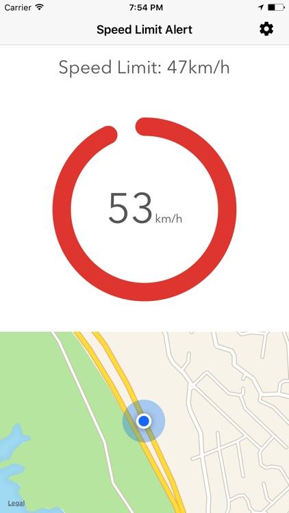 Speed Limit Alert screenshot-3