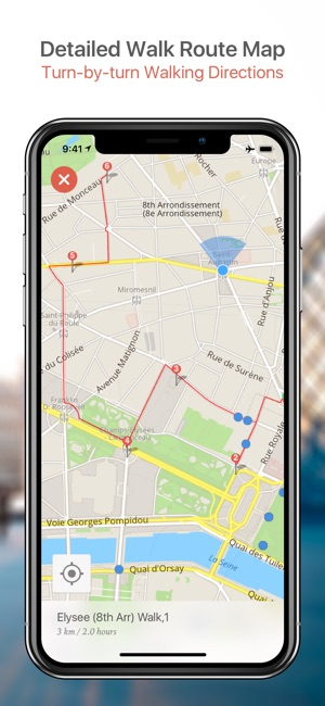 Kuwait City Map and Walks on the App Store
