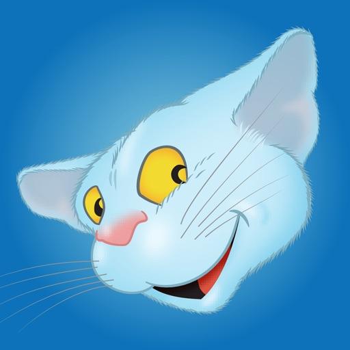Blue Cat emoji