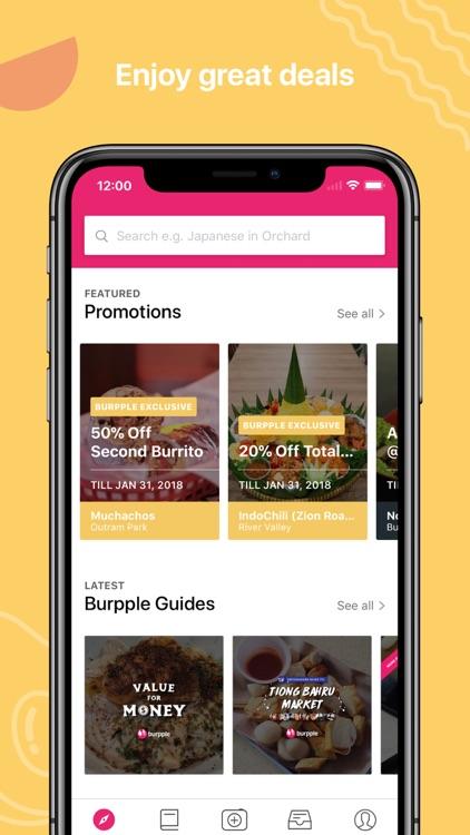Burpple - Find Good Food screenshot-3