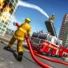 美国纽约消防员卡车