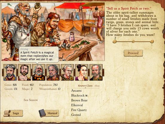 King of Dragon Pass на iPad