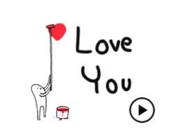 Animated Mr. Stranger Sticker