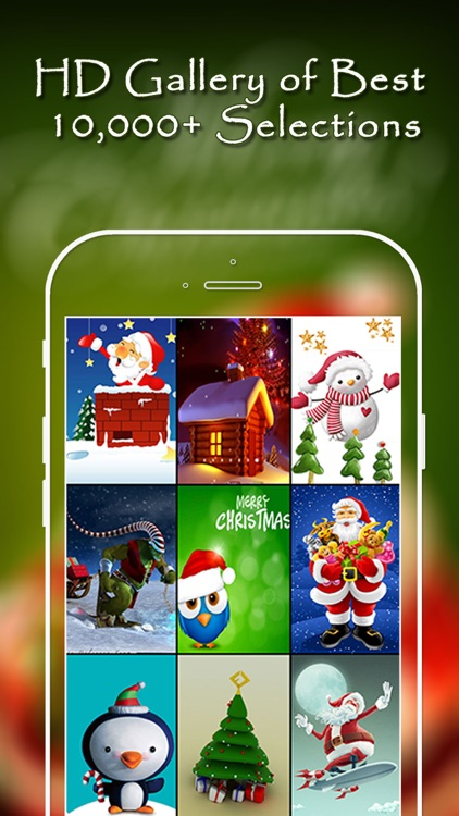 Christmas Wallpapers Pro® screenshot-4