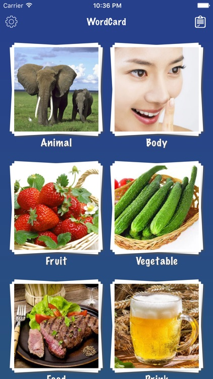 Chinese Word Flashcards Easy