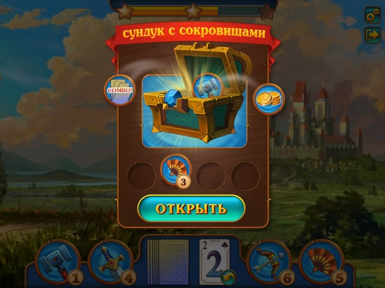 Magic Tri Peaks Solitaire Скриншоты8