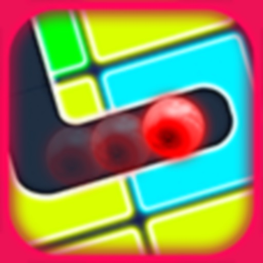 Classic Neon Slide Puzzle Game