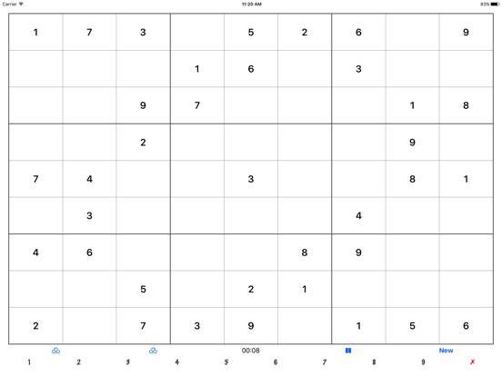 Endless Sudoku screenshot