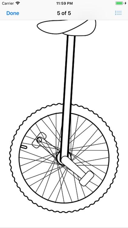 Unicycle Sticker Pack screenshot-8