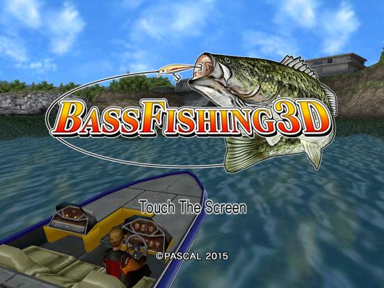 Bass Fishing 3D HD Premium на iPad