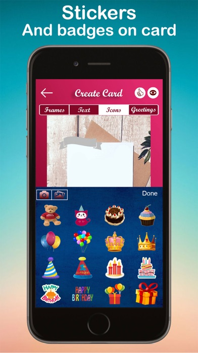 Birthday Greeting Card Frame App For Windows PC Download For Free