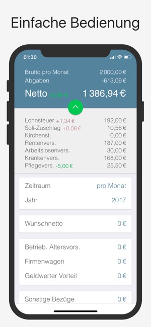 Bruno: Brutto Netto Rechner Screenshot