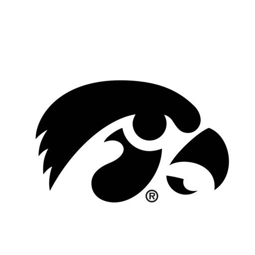 University of Iowa Hawkeyes Animated+Stickers