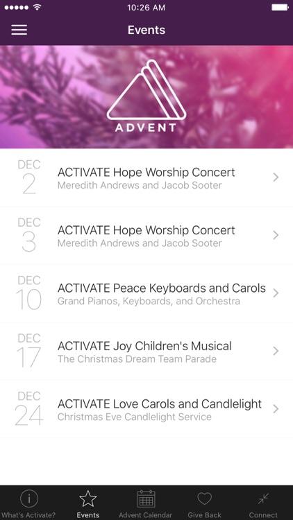 Activate Advent