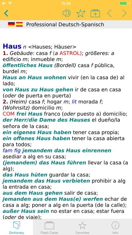 German Spanish XL Dictionary