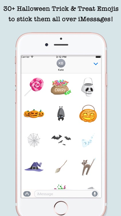 Halloween Emojis For iMessage screenshot-2