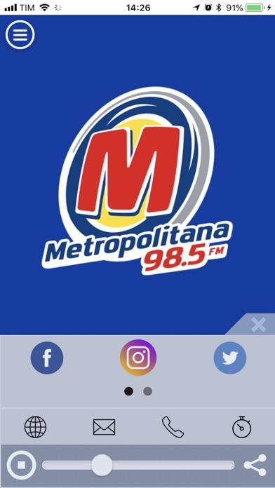 Metropolitana FM   98,5   SP-0