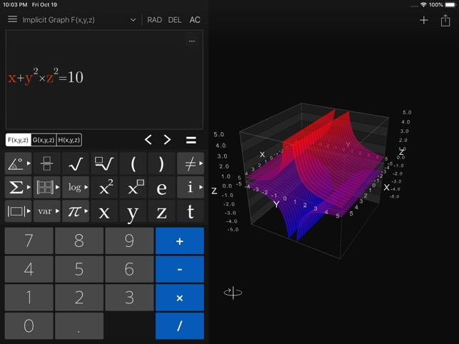 Visual Math 4D Screenshot